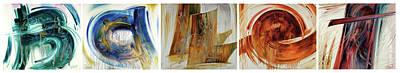Painting - B A Ll E T by Serguei Zlenko