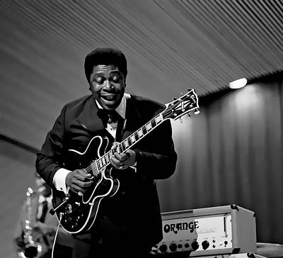 B. B. King Blues Live Art Print by Daniel Hagerman