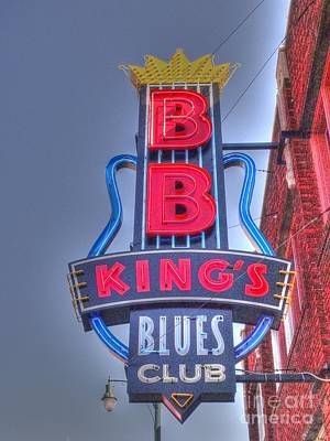 Photograph - B B King's by David Bearden