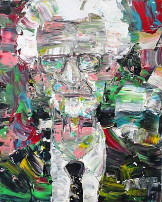 B. F. Skinner Portrait Art Print by Fabrizio Cassetta