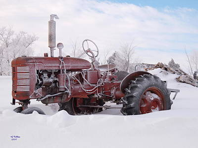 Photograph - B Farmall by Gordon Collins