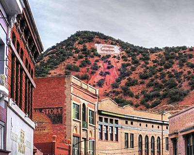 Photograph - B Is For Bisbee Bisbee Arizona by Toby McGuire