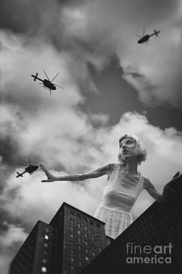 Photograph - B Movie 50 Foot Woman by Clayton Bastiani