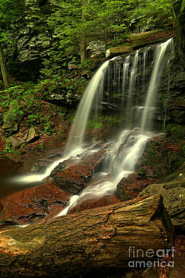 Photograph - B Reynolds Falls by Adam Jewell