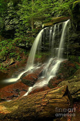 Photograph - B Reynolds Waterfall by Adam Jewell