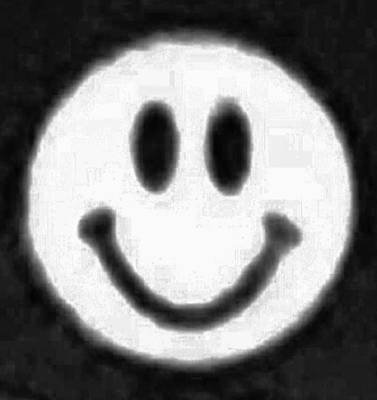 Photograph - B W Smiley by Rob Hans