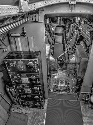 Military Photograph - B17 Nine-o-nine Flying Fortress  V8 by John Straton