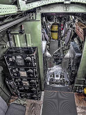 Historic Photograph - B17 Nine-o-nine Flying Fortress  V9 by John Straton