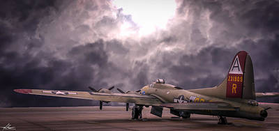 Photograph - B17g Nine-0-nine by Philip Rispin