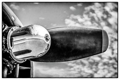 Photograph - B24 Propeller by Chris Smith