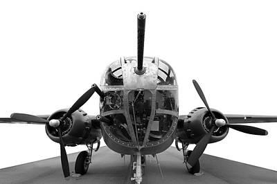 B25 Photograph - B25 Bomber by Paul Fell