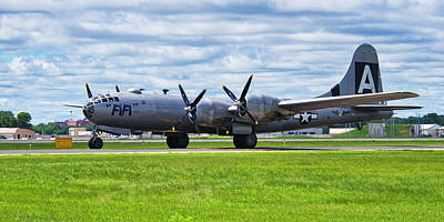 Photograph - B29  Super Fortress 2 by Steven Ralser