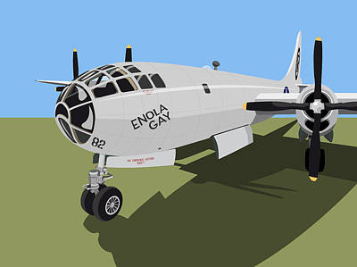 B29 Superfortress Art Print