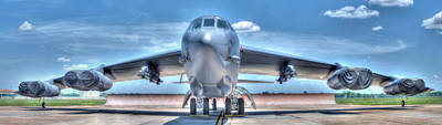 Photograph - B52 by Philip Rispin