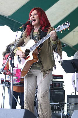 Photograph - B52's Singer Kate Pierson by Concert Photos