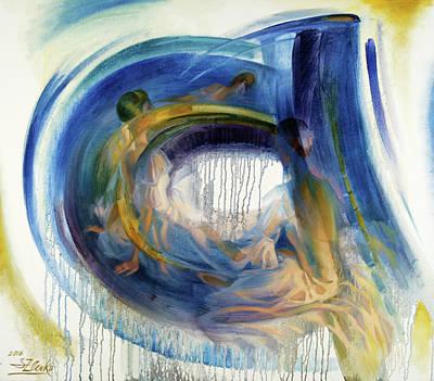 Painting - B-a-llet by Serguei Zlenko