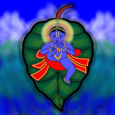 Painting - Baal Mukunda by Pratyasha Nithin