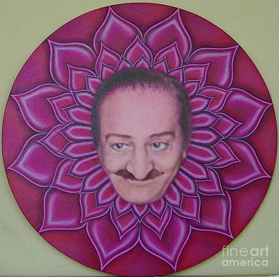 Meher Baba Painting - Baba In A Dream In Your Mind by Billy Gray