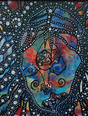 Archetype Mixed Media - Baba Yaga by Alice Schwager