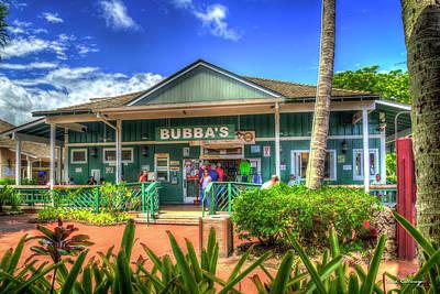 Photograph - Bubbas Burgers Poipu Kauai Collection Art by Reid Callaway