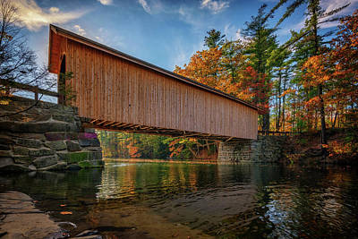 Photograph - Babb's Bridge by Rick Berk