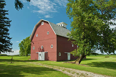Art Print featuring the photograph Babcock Barn 2259 by Guy Whiteley
