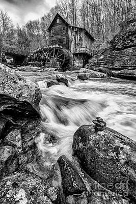 Photograph - Babcock State Park Grist Mill by Thomas R Fletcher