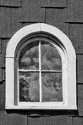 Art Print featuring the photograph Babcock Window 2273 by Guy Whiteley