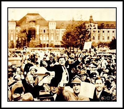 Cal Ripken Photograph - Babe Ruth 1934 Japan Tour by Peter Gumaer Ogden Collection