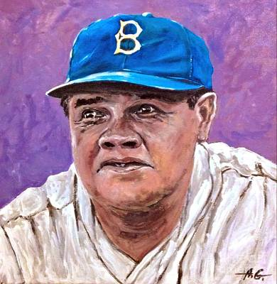 Babe Ruth Painting - Babe Ruth by Alexander Gatsaniouk