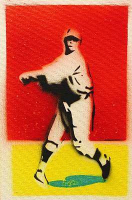 Babe Ruth Painting - Babe Ruth  by John  Creech