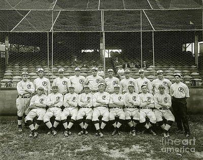 Babe Ruth Vintage Photograph - Babe Ruth Providence Grays Team Photo by Jon Neidert