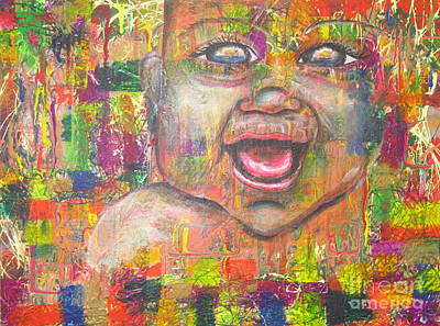 Baby - 1 Art Print by Jacqueline Athmann