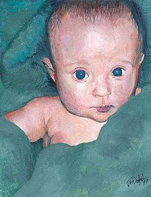 Painting - Baby A by Joe Dagher