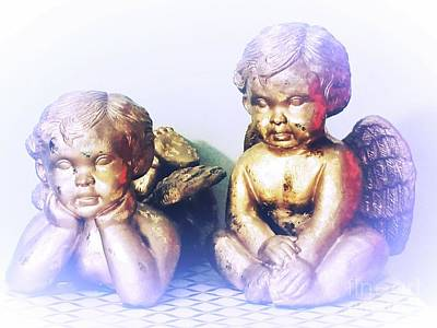 Photograph - Baby Angels by Rachel Hannah