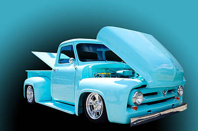 Truck Photograph - Baby Blue by Jim  Hatch