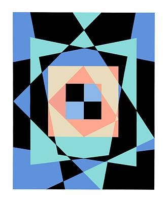 Digital Art - Baby Blues 3 by David Chestnutt