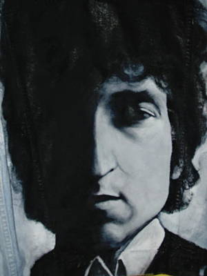 Gioffre Harrington Tapestry - Textile - Baby Bob Dylan by Janet Gioffre Harrington