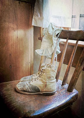 Photograph - Baby Booties And Memories by Susan Rissi Tregoning