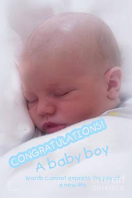 Photograph - Baby Boy by Elaine Teague