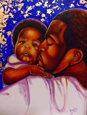 Painting - Baby Boy by Emery Franklin