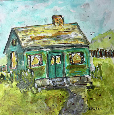 Painting - Baby Bungalow by Dolores Baker