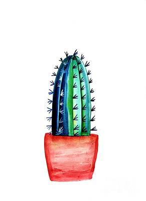 Baby Cacti Art Print