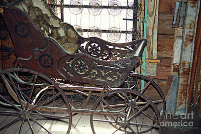 Photograph - Baby Carriage by Inspirational Photo Creations Audrey Woods