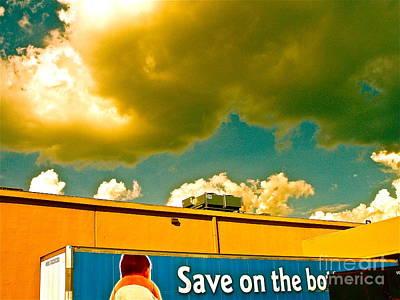 Baby Cloud Truck Art Print by Chuck Taylor