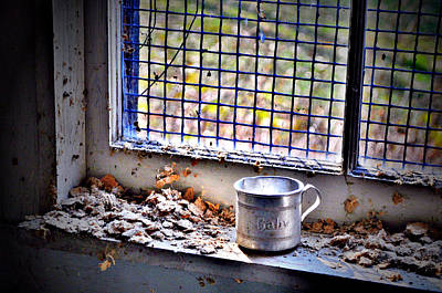 Abandoned Photograph - Baby Cup by Emily Stauring