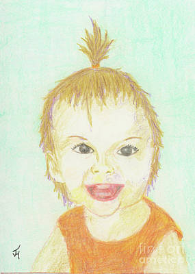 Drawing - Baby Cupcake by Jack Hedges