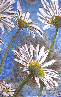 Painting - Baby Daisy Viewpoint by Jill Annette Johnson