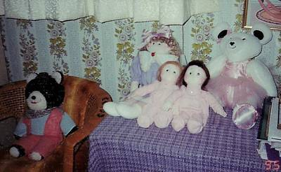 Photograph - Baby Dolls And Bears by Denise Fulmer
