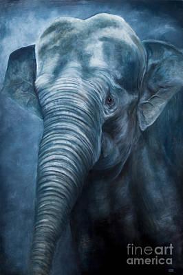 Painting - Sacred Blue by Julie Bond